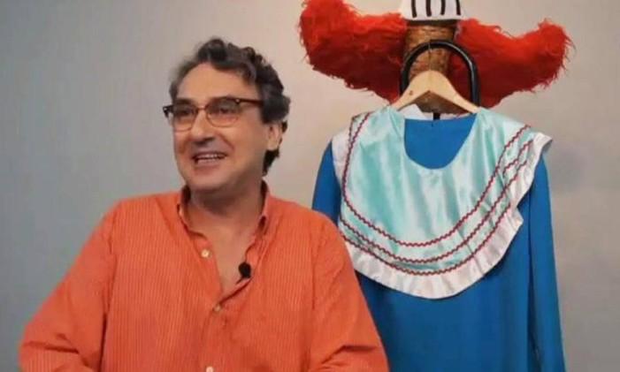 Charles Myara, que interpretou o palhaço Bozo entre 1982 e 1985 Foto: Reprodução
