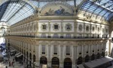 Entre o Duomo e o Scala de Milão Foto: Cristina Massari