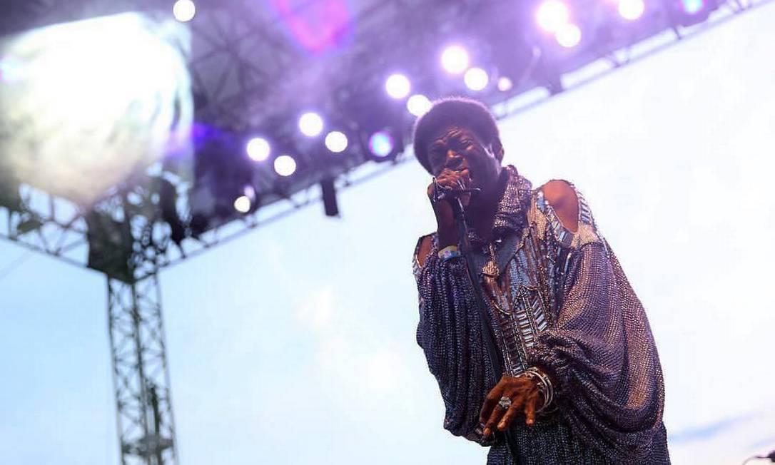 O cantor Charles Bradley Foto: Divulgação