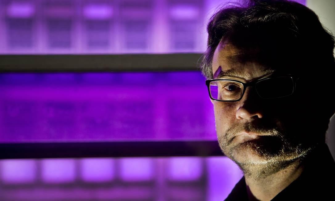 "Castro Rocha: presidente da Abralic e autor de ""Culturas shakespearianas"" Foto: ANTONIO SCORZA / Agência O Globo"