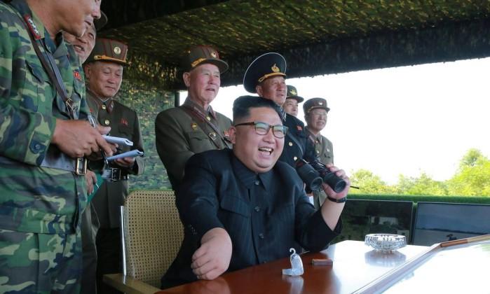 Coreia do Norte lança mísseis de curto alcance, dizem EUA