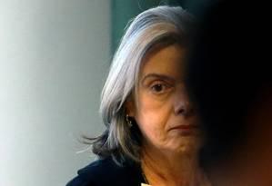 A presidente do STF, ministra Cármen Lúcia Foto: Jorge William / Agência O Globo 17/08/2017