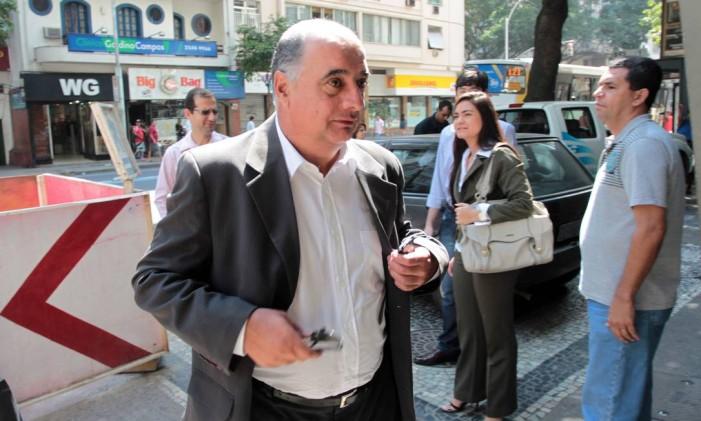 O ex-presidente do Departamento de Transportes Rodoviários do Rio de Janeiro (Detro) Rogério Onofre Foto: Gabriel de Paiva/ Agência O GLOBO 31/08/2011