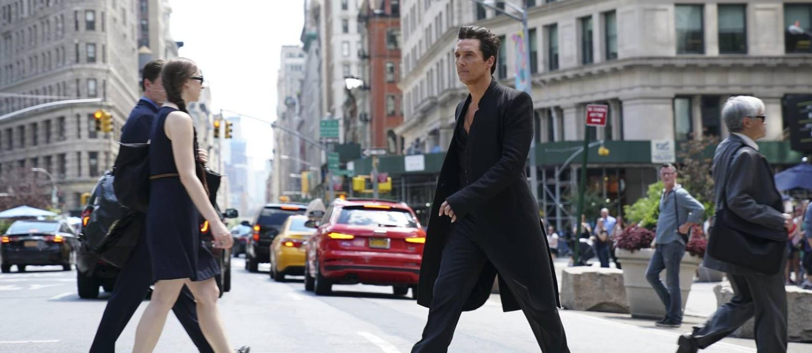 Matthew McConaughey em cena de 'A torre negra' Foto: Divulgação