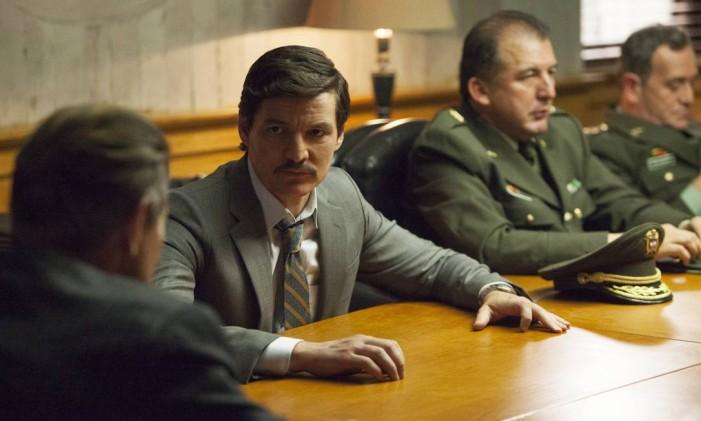 Pedro Pascal em cena da terceira temporada de 'Narcos' Foto: Juan Pablo Gutierrez/Divulgação