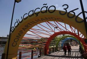 Encontro internacional na Escola Sesc de Ensino Médio discute o dia a dia das salas de aula Foto: Gustavo Azeredo / Agência O Globo