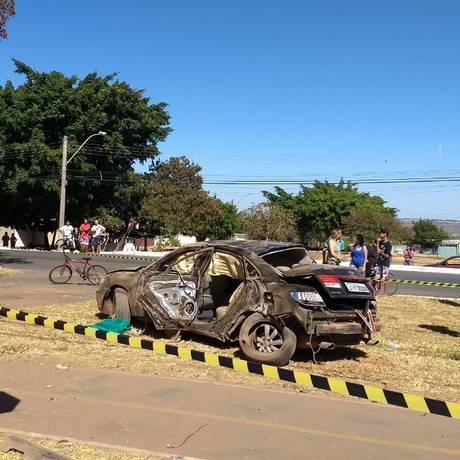 Adolescente bêbado atropelou família Foto: Divulgaçãio/PMDF