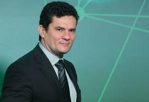 Moro defendeu uma 'verdadeira reforma política' Foto: Edilson Dantas / Agência O Globo