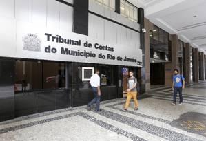 Prédio do tribunal de contas do Município do Rio de Janeiro Foto: Domingos Peixoto/ 01/11/2016 / Agência O Globo