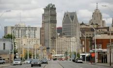Avenida Grandriver: mesmo após concordata, cidade conseguiu manter fundo para conceder benefícios fiscais e atrair empresas Foto: Anthony Lanzilote/Bloomberg/23-6-2017