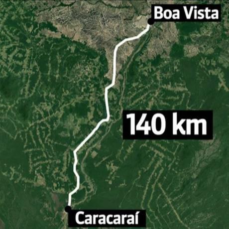 Naufrágio em Roraima deixou quatro mortos Foto: Reprodução/GloboNews
