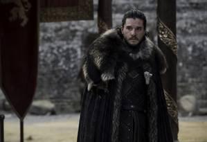 Kit Harington como Jon Snow Foto: Divulgação