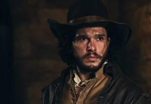 Kit Harington em cena de 'Gunpowder' Foto: BBC / Divulgação