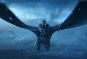 Cena do sétimo episódio da penúltima temporada de 'Game of thrones', recordista de audiência Foto: HBO via AP