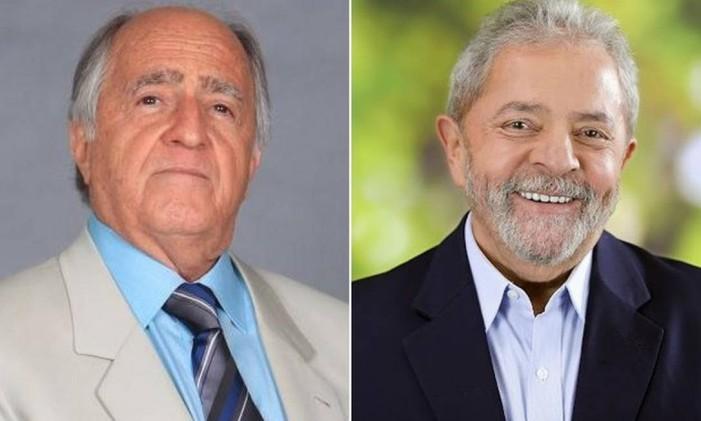 Ary Fontoura viverá Lula no filme Polícia Federal - A lei é para todos Foto: Reprodução