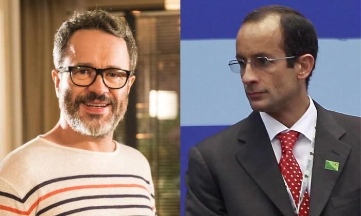 O ator Leonardo Medeiros vive Marcelo Odebrecht Foto: Reprodução