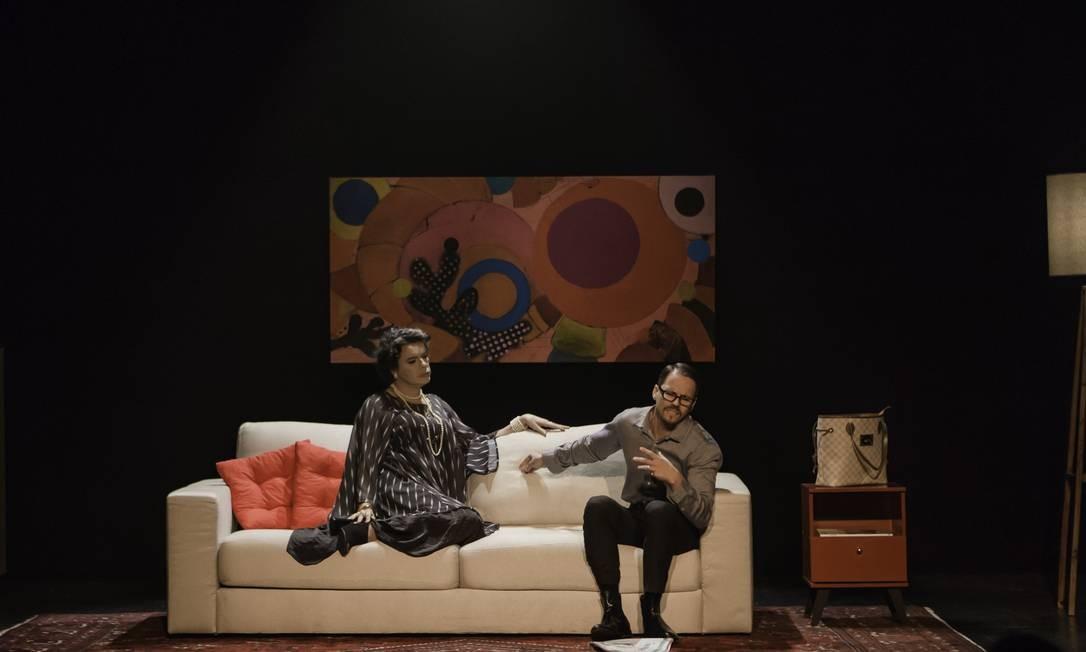 A tragicomédia 'Crimes delicados' reestreia no Teatro Glauce Rocha Foto: Rogério Belório / Rogério Belório