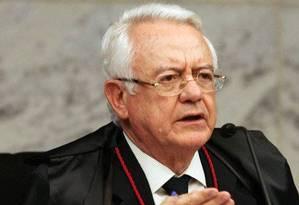 O ex-ministro do STF Carlos Velloso Foto: Reprodução