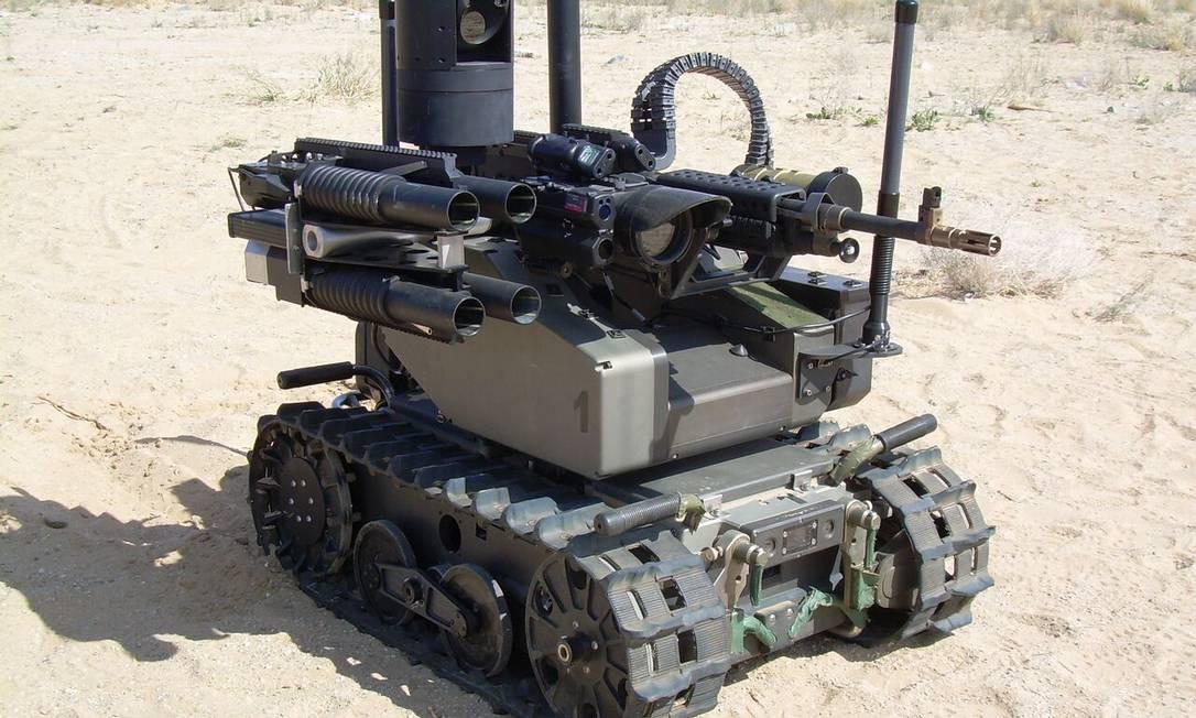 Modular Advanced Armed Robotic System Foto: Divulgação