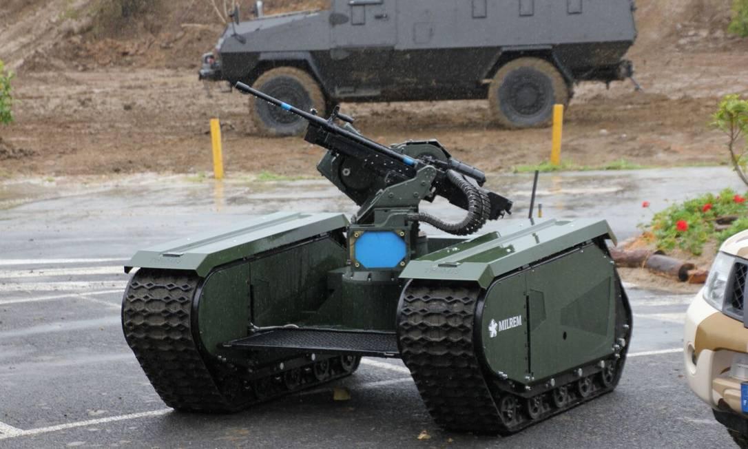 Milrem THeMIS ADDER Unmanned Combat Vehicle Foto: Divulgação