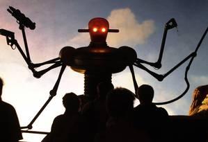 Existe o temor de que robôs letais autônomos possam ser usados por terroristas Foto: Fabian Bimmer / AP
