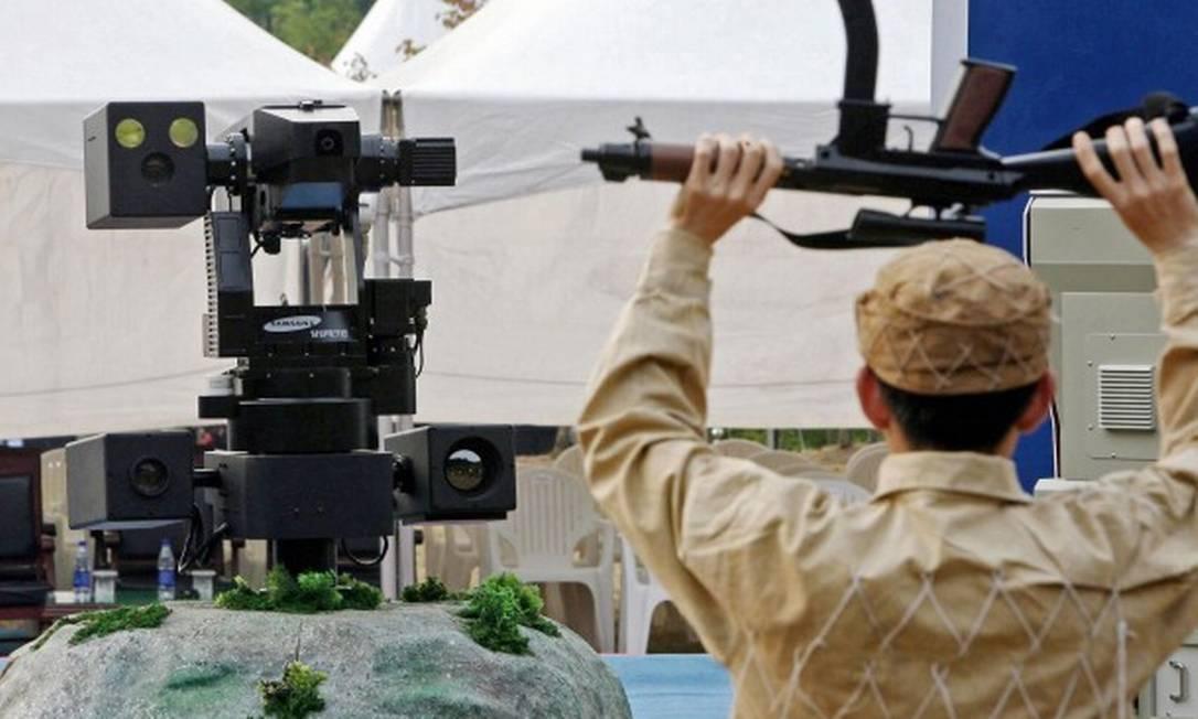 Samsung SGR-1 Foto: KIM DONG-JOO/AFP