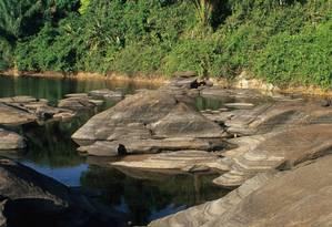 Florestas do Amapá. Margens do Rio Jari, na reserva Iratapuru Foto: Conservação Internacional / Divulgação