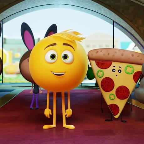 Cena de 'Emoji - o filme' Foto: Divulgação