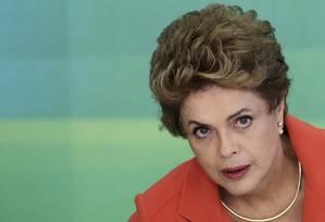 A ex-presidente Dilma Rousseff Foto: Adriano Machado / REUTERS