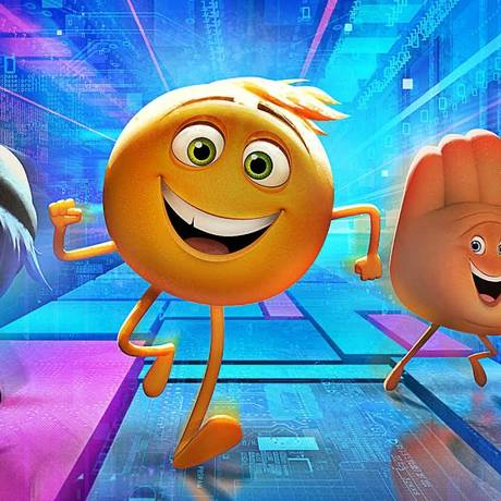 Cena do filme 'Emoji: o filme' Foto: Divulgação