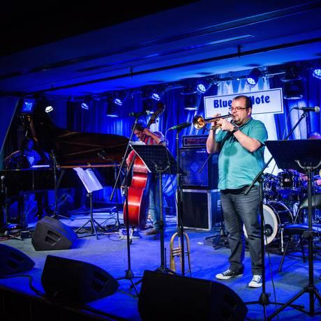 O grupo Brazil Jazz Stars estreia a nova casa com artistas brasileiros Foto: Barbara Lopes