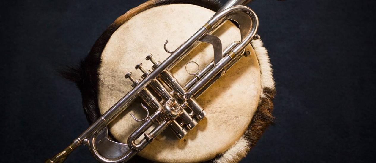 Sopro e percussão, alguns dos símbolos do jazz Foto: Monica Imbuzeiro