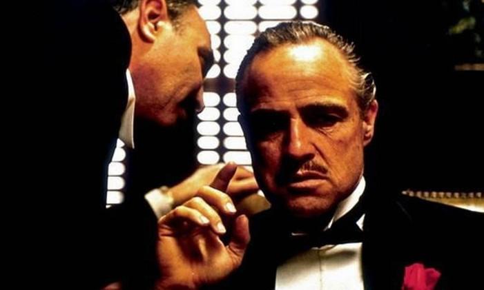 """Cena de """"O poderoso chefão"""", de Francis Ford Coppola, que passa sábado Foto: Divulgação"""