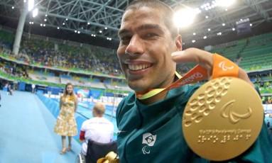 Daniel Dias conquistou nove medalhas no Rio Foto: Márcio Alves / Agência O Globo
