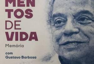 "Capa de ""Fragmentos de Vida"", de Marcello Cerqueira Foto: Guito Moreto / Agência O Globo"