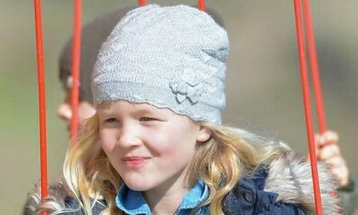Savannah Phillips é a primeira bisneta da rainha Elizabeth Foto: Reprodução Twitter