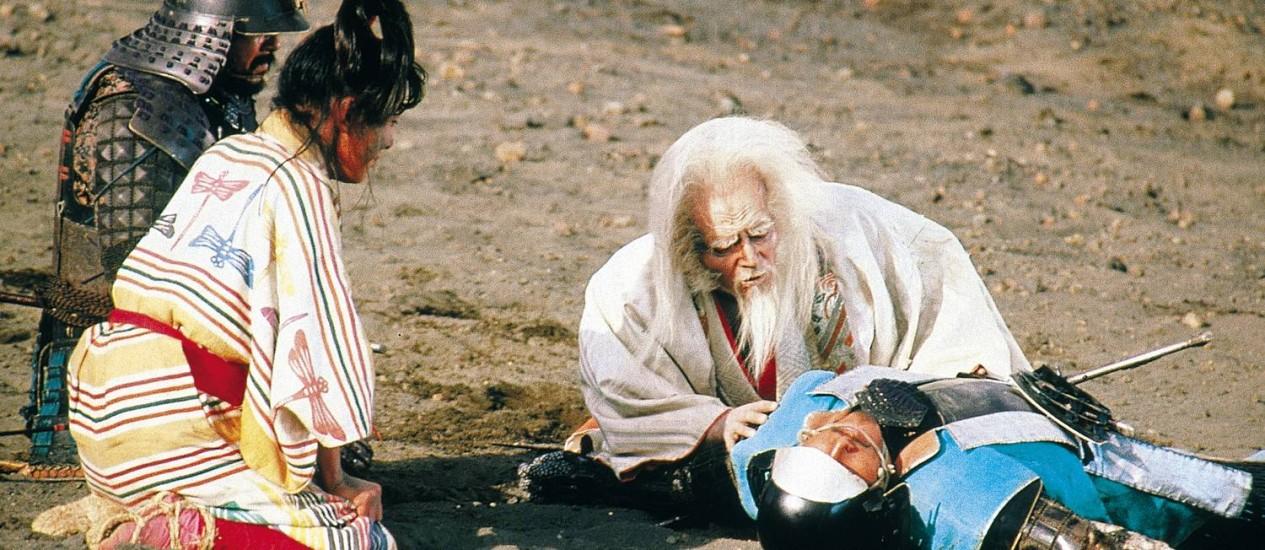 """""""Ran""""(1985), de Akira Kurosawa, é um dos destaques entre os longas mais antigos, segundo a curadoria Foto: Divulgação"""