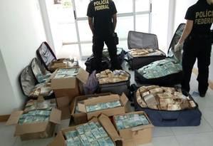 PF apreende dinheiro em imóvel supostamente ligado a Geddel Foto: Divulgação