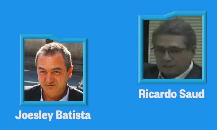Diálogos entre Joesley Batista e Ricardo Saud Foto: Reprodução