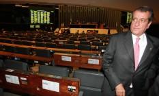 O ex-deputado federal Valdemar da Costa Neto, no plenário da Câmara Foto: Aílton de Freitas/Agência O Globo/28-11-2012