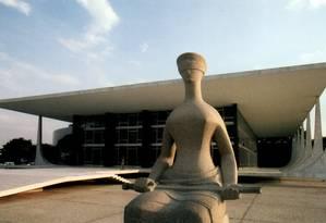 Fachada do Supremo Tribunal Federal Foto: Divulgação / Divulgação