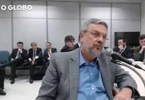 Segundo Palocci, havia um 'pacto de sangue' firmado entre Odebrecht e PT Foto: Reprodução