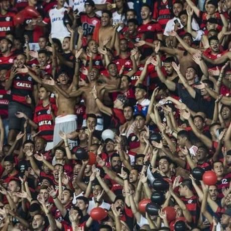 Torcida do Flamengo em foto de arquivo Foto: Guito Moreto