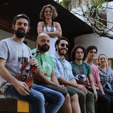 Coletivo de artistas que fazem a cena independente da cidade sobreviver, estão à frente do evento. Foto: Thiago Freitas / Agência O Globo