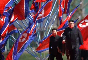 União Européia pretende pressionar o país para que o projeto nuclear seja interromprido Foto: DAMIR SAGOLJ / Reuters