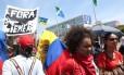 Manifestação Gritos dos Excluídos em Brasília pede saída de Temer