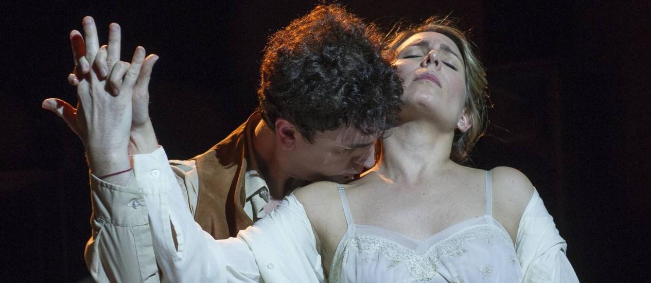 """Ópera """"Piedade"""", em cartaz no Teatro Cólon, em Buenos Aires Foto: Divulgação/Máximo Parpagnoli / Divulgação/Máximo Parpagnoli"""