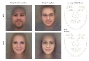 Algoritmo detecta traços faciais para revelar orientação sexual Foto: REPRODUÇÃO/Universidade Stanford