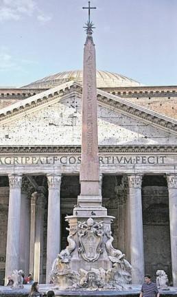 Panteão romano Foto: Domenico Stinellis/AP