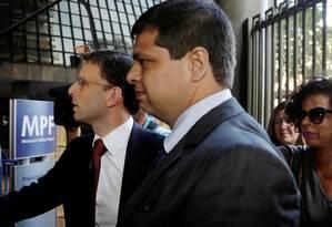 O advogado Marcello Miller é suspeito de atuar na defesa da JBS enquanto era procurador Foto: Fabio Guimarães / Agência O Globo 08/09/2017